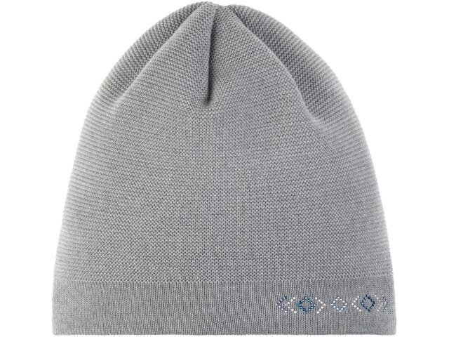 Eisbär Anya Crystal Oversize Mütze Damen light grey